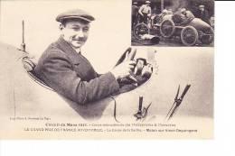 Circuit Du Mans 1913  --  Coupe Internationnale Des Motocyclettes & Motocycles - Molon Sur Vinot-Deguingand - Le Mans
