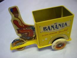 Boîte Triporteur BANANIA En Fer  Dim 18x10 Cms Voir 3 Photos - Boxes