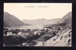 MNE-06 MONTENEGRO LUKA KOTORSKA CATTARO HAFEN - Montenegro