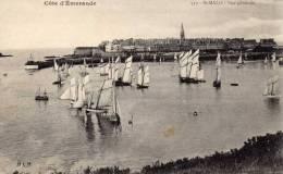 01981 - Segelboote An Der Cote D'Emeraude Bei St. Malo - Segelboote