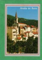Amélie-les-Bains (église Et Vue Générale) - Autres Communes