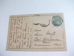 Cartolina Postale Della Germania Intero Postale - Germania