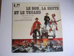 """33 Tours - Du Film """" LE BON, LA BRUTE ET LE TRUAND """" (CLINT EASTWOOD / LEE VAN CLEEF ) ENNIO MORRICONE - Filmmusik"""