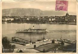 GENEVE      LA RADE   BATEAU - GE Genève