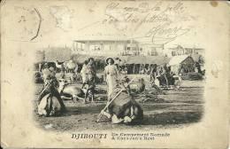 DJIBOUTI  Un Campement Nomade - Djibouti
