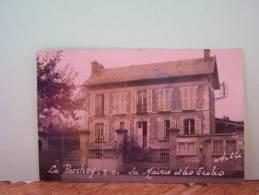 LE PERCHEY (VAL D'OISE) LA MAIRIE ET LES ECOLES.    6935CPLTMELU - Autres Communes