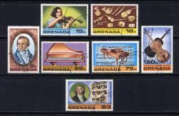 GRENADE  - N° 804/810° - 150è ANNIVERSAIRE DE LA MORT DE BEETHOVEN - Grenada (1974-...)