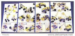 Lot de 4 catalogues Meccano. N� 1, 2, 3, 4.