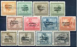 Ruanda-Urundi                 50/61   * - Ruanda-Urundi