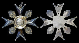 AG05008 Schot Tir Schuss, Austria Autriche Österreich, BraunKönig 1908, Croix, Argent 800 (16 G.) - Jetons & Médailles
