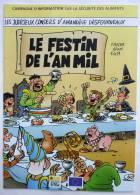 LES JUDICIEUX CONSEILS D'AMANDINE DESFOURNEAUX - LE FESTIN DE L'AN MIL -  FAUCHE ADAM E411 - 1999 - XIII