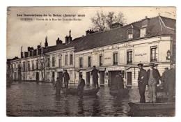 Corbeil (91)  Entree De La Rue Des Grandes Bordes - Corbeil Essonnes