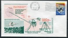 1981 USA NASA Titan Saturn Space Rocket Cover - United States