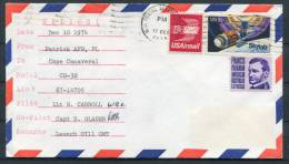 1974 USA Helios Space Rocket Cover - Signed? - Covers & Documents