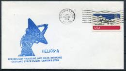1974 USA Helios A Space Rocket Cover - Covers & Documents