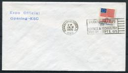 1976 USA Kennedy Space Centre Rocket Cover - Covers & Documents