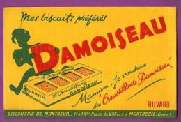 BUVARD  -  DAMOISEAU  - BISCUITS CROUSTILLANTS DAMOISEAU   -   BISCUITERIE DE MONTREUIL (SEINE) - Süssigkeiten & Kuchen