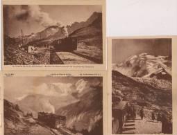 13/3 / 116  - LOT DE 15 CP CHEMAIN DE FER DU MONT BLANC - ( BIONNASSAY ) - 5 - 99 Postcards