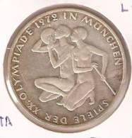 MONEDA DE PLATA DE ALEMANIA DE 10 MARK DEL AÑO 1972 LETRA G  (COIN) SILVER,ARGENT. - [ 6] 1949-1990 : RDA - Rep. Dem. Alemana