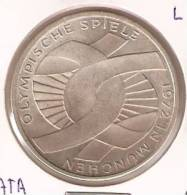 MONEDA DE PLATA DE ALEMANIA DE 10 MARK DEL AÑO 1972 LETRA F  (COIN) SILVER,ARGENT. - [ 6] 1949-1990 : RDA - Rep. Dem. Alemana
