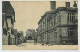 (Wissembourg) Rue Des Ecoles. - Wissembourg