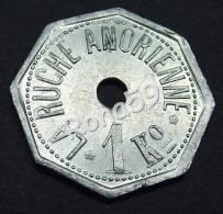 Rare Pièce , Monnaie De Nécessite Aluminium    Anor  Pain  1916 - Monetari / Di Necessità