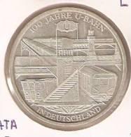 MONEDA DE PLATA DE ALEMANIA DE 10 EUROS DEL AÑO 2002 LETRA D (COIN)  SILVER,ARGENT. - [ 7] 1949-… : RFA - Rep. Fed. Alemana