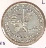 MONEDA DE PLATA DE ALEMANIA DE 10 EUROS DEL AÑO 2002 LETRA F (COIN)  SILVER,ARGENT. - [ 7] 1949-… : RFA - Rep. Fed. Alemana