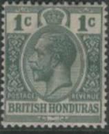 BRITISH HONDURAS 1922 1c KGV SG 126 HM HX37 - British Honduras (...-1970)