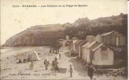 ETABLES - LES CABINES DE LA PLAGE DU MOULIN - Etables-sur-Mer