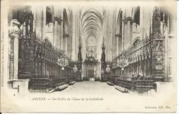 AMIENS, LES STALLES DU CHOEUR DE LA CATHEDRALE, PRECURSEUR - Amiens