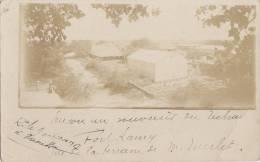 Afrique -  Carte-Photo - Tchad -  Fort Lamy - Habitations Coloniales