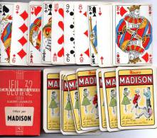 Jeu De 32 Cartes à Jouer : Madison - Alcools