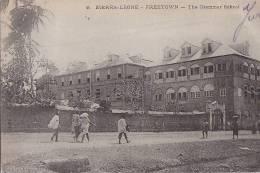 Afrique - Sierra Leone - Ecole  - Grammar School - Précurseur Voyagée Sierra Leone Bruxelles - Sierra Leone
