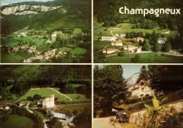CPM   CHAMPAGNEUX        Le Village   En Multivues - Andere Gemeenten
