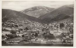 Veles (Weles) Macedonia, Aerial View Of Town, Architecture, River(?) Front, C1930s Vintage Real Photo Postcard - Macedonia