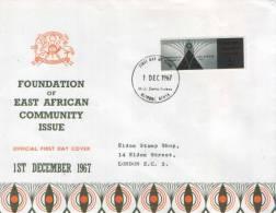 KENYA,UGANDA ,TANZANIA-FOUNDATION OF EAST AFRICAN COMMUNITY ISSUE - Kenya, Uganda & Tanganyika