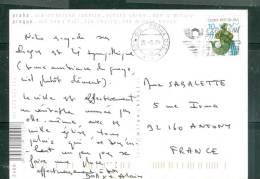 Carte De Prague Affranchie Pour La France En 2006  - LL15307 - Tchéquie