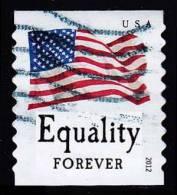 Etats-Unis / United States (Scott No.4633 - Drapeau / US / Flag) (o) Roulette / Per. 9 1/2  / Coil - Gebruikt