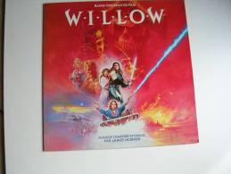 """33 Tours - Du Film """" WILLOW """" ( VAL KILMER / JOANNE WHALLEY / WARWICK DAVIS ) - Filmmusik"""