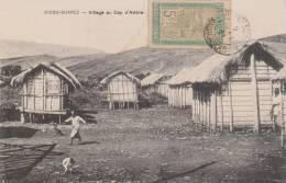 DIEGO SUAREZ ( VILLAGE AU CAP D' AMBRE   1911 TIMBRE OBLITERATION - Madagascar
