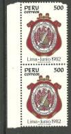 Pérou Neufs Sans Charniére 16TH INT LATIN NOTARIES CONGRESS, LIMA - Peru