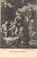 - MADRID  Museo Del Prado    RAFAEL  Sacra Familia   Unused - Madrid