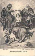 - MADRID  Museo Del Prado   VELASQUEZ  La Coronacion De La Virgen   La Virgen Del Pez  Unused - Madrid