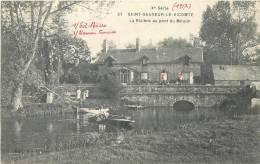 50 SAINT SAUVEUR LE VICOMTE LA RIVIERE AU PONT DU MOULIN - Saint Sauveur Le Vicomte