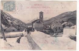 Les  Alpes.  1304.  -  LARCHE  (1697 M.)  -  Entrée  D' Italie. - France