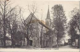 LAROQUE-TIMBAUT  L'EGLISE - Laroque Timbault