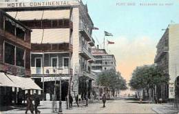 1910?, Ägypten, Port Said, Boulevard Du Port, Hotel Continental - Port Said