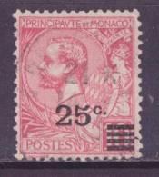 Monaco (C) 1922 Y&T N°52 (o) - 25cs10c Prince Albert 1er - Monaco