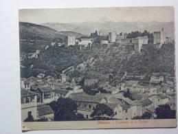 B4412 * ESPAÑA / SPAIN. Granada. Panoramica De La Ciudad Com 4 Fotos. / Panoramic Of The City With 4 Photos. - Reproductions
